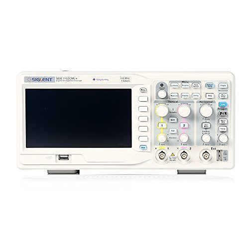 Siglent SDS1102CML+ Digital Storage Oscilloscope, 100MHz, 7'' TFT-LCD Display by Siglent