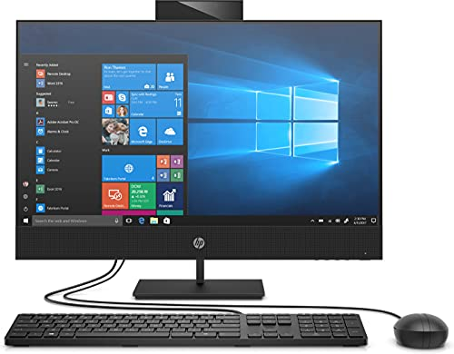 HP ProOne 440 G6 60,5 cm (23,8') 1920 x 1080 Pixeles 10.ª generación Intel Core i5 8 GB DDR4-SDRAM 256 GB SSD All-in-One PC Windows 10 Pro Wi-Fi 6 (802.11ax) Negro (1C7D5EA#BR1)