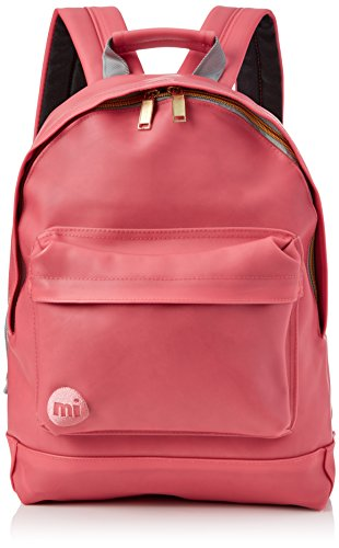 Mi-Pac Mi-Pac Rubber Backpack Rucksack, 41 cm, Rosa (Coral)