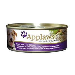 Applaws Dog Tin Chicken Breast with Vegetables, 12 x 156g