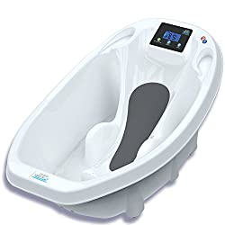 Babywanne Aquascale Badewanne für Baden Baby mit Digitale Babywaage und Badethermometer