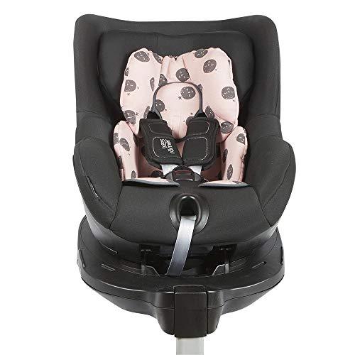 BAOBABS BCN - Reductor Universal para Silla de Coche y Paseo Bebé Grupo 0 y 1 Maxicosi | Asiento Reductor para Portabebés, Capazo, Sillita de paseo y Cuna | Estampado Pink Carbon Moon