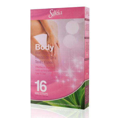 Silkia Body Wax Strips - Pack of 16