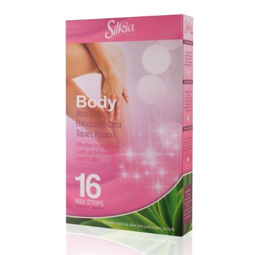 Silkia Body Wax Strips - Pack of 16