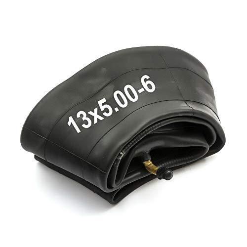 PetrolScooter - Carretilla de rueda de 13 x 5.00-6 13 x 500-6 pulgadas 6 pulgadas válvula doblada para neumáticos de 6 pulgadas