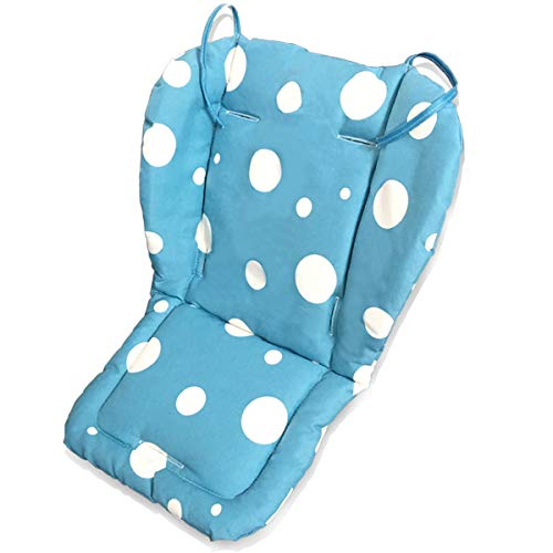 Fitzulam Stroller Cushion Waterproof Baby Highchair Padding Liner Childs Car Seat Infant Breathable Pad Pram Mat Breathable Pad Infant Pram Mat (Blue)