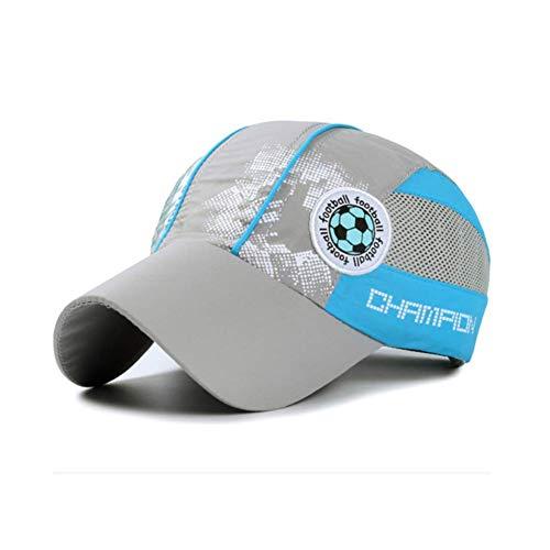 Gorra de malla transpirable para niño, ideal para deportes al aire libre