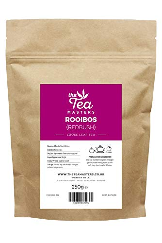 The Tea Masters Tè Foglie Sfuse Rooibos (Redbush) 250g