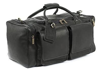 Claire Chase Hampton's Duffel, Black, One Size