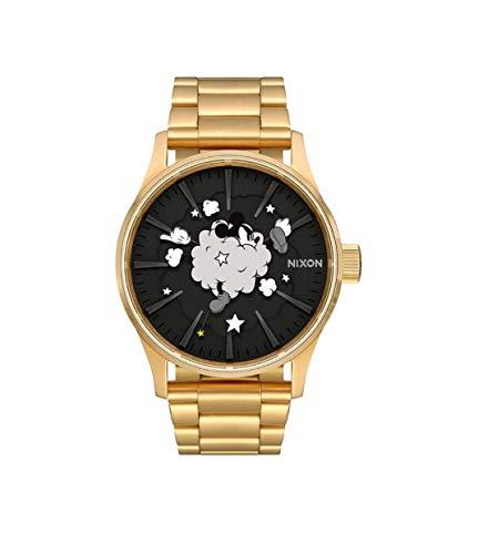 NIXON Reloj Analógico para Unisex Adultos de Cuarzo con Correa en Acero Inoxidable A356-3092-00