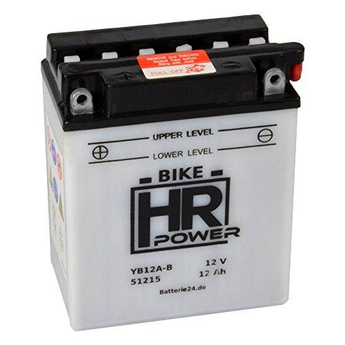 Motorrad Batterie Starterbatterie 12V 12Ah YB12A-B 51215