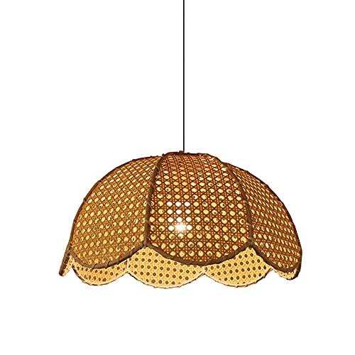 WANGYAN Colgante De Luz Accesorios con Lámpara Colgante Industrial Lámpara Colgante Lámpara Colgante para Cocina Dormitorio Baño, Sin Incluir Bombilla, 50 CM