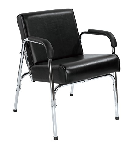 PayLesshere Modern Fashion Auto Recline Black Shampoo Chair Barber Spa Beauty Salon