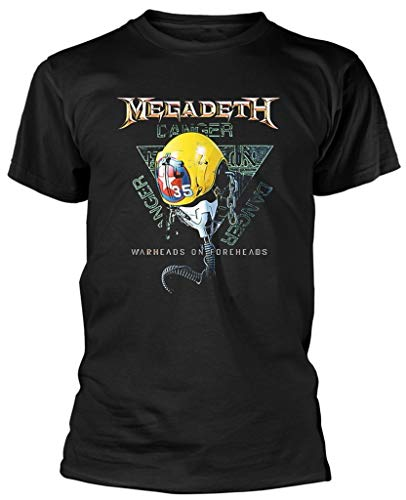 Megadeth 'VC35 Triangle' (Black) T-Shirt (Small)