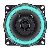 Explopur Altavoz coaxial de Alta fidelidad para Coche,Altavoz coaxial de Alta fidelidad Universal para Coche de 4 Pulgadas y 100 W, Altavoz de frecuencia de Rango Completo estéreo de música de Audio