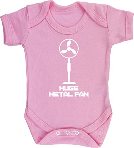 Hippowarehouse I'm a Huge Metal Fan Baby Vest Bodysuit (Short Sleeve) Boys...