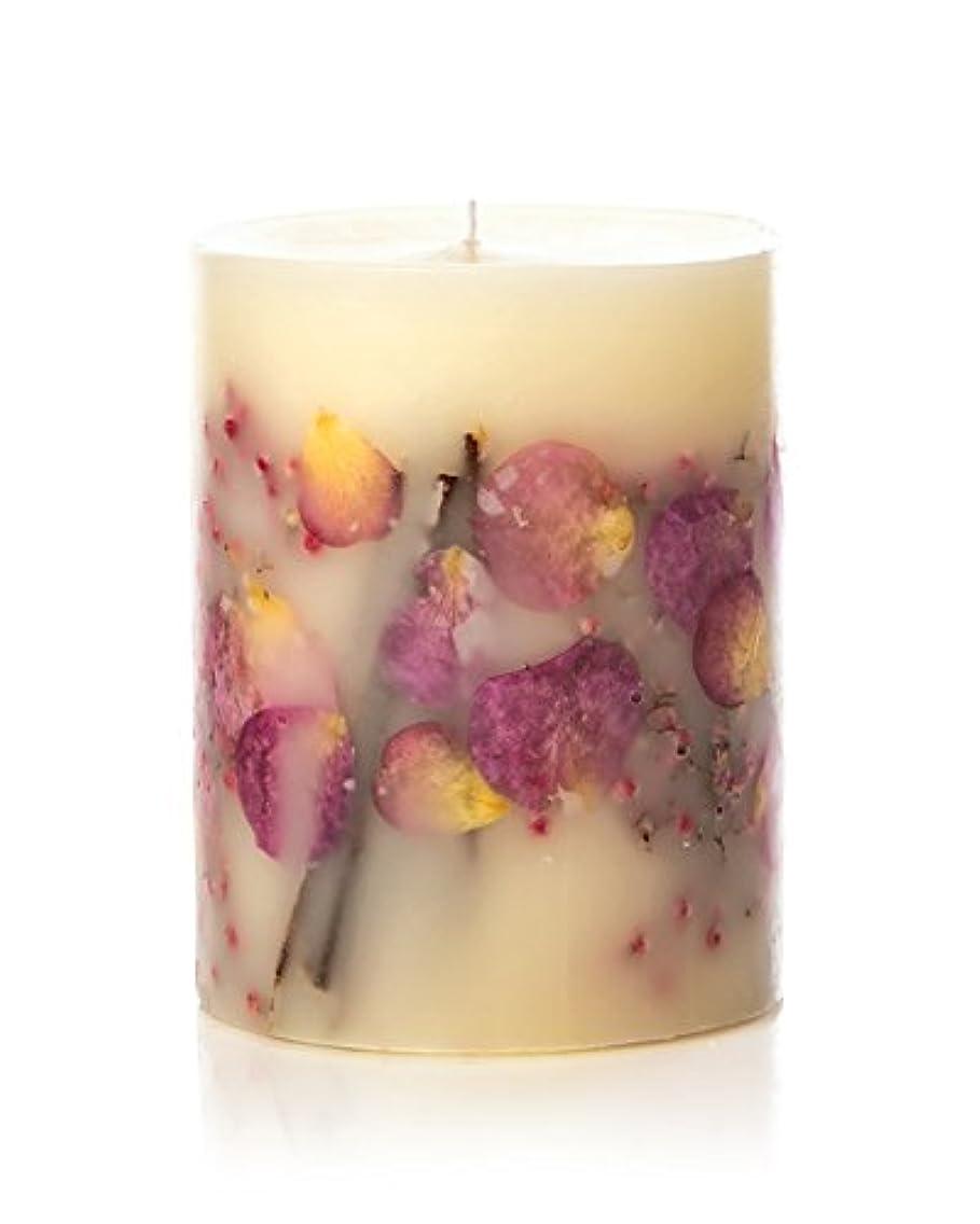 スペイン語省全滅させるロージーリングス ボタニカルキャンドル ビッグラウンド アプリコット&ローズ ROSY RINGS Round Botanical Candle Big Round – Apricot Rose
