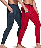 ATHLIO Mens Compression Pants Running Tights Workout Leggings, Cool Dry Technical Sports Baselayer,...