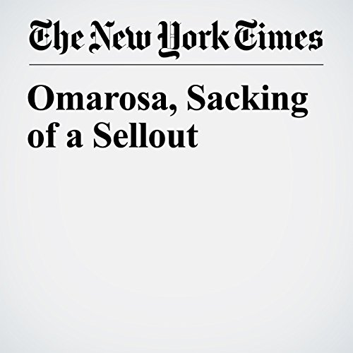 Omarosa, Sacking of a Sellout copertina