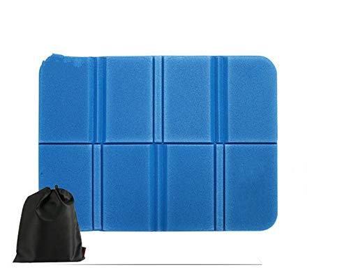 Sedia pieghevole per esterni portatile Tappetino da campeggio ultraleggero Tappetino per sedile in schiuma EVA impermeabile Cuscino per sedia da spiaggia picnic a prova di umidità - Verde