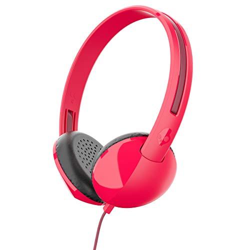 Skullcandy koptelefoon met microfoon rood/bordeauxrood