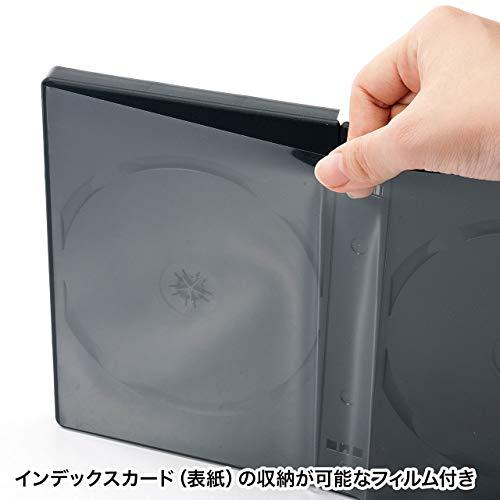 『サンワサプライ DVDトールケース(8枚収納) ブラック 3枚セット DVD-TW8-03BK』の3枚目の画像