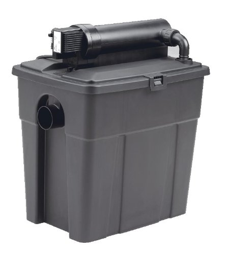Pontec Teichfilter,Durchlauffilter PondoClear 4500 mit UVC-Vorklärer