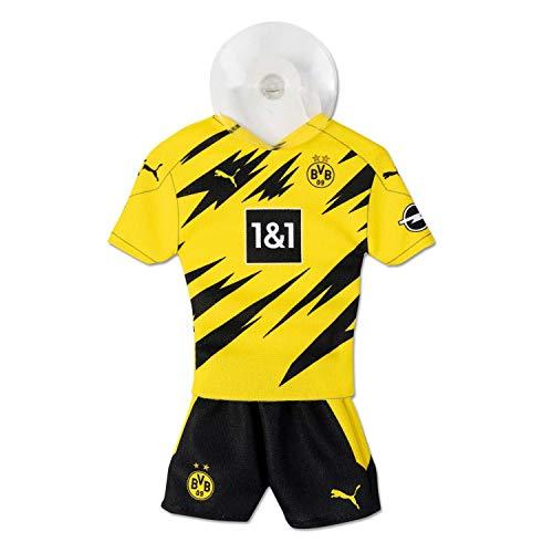 Borussia Dortmund Mini Mini Kit / Autotrikot / Trikot mit Saugnapf - neues Design BVB 09 plus gratis Aufkleber forever Dortmund