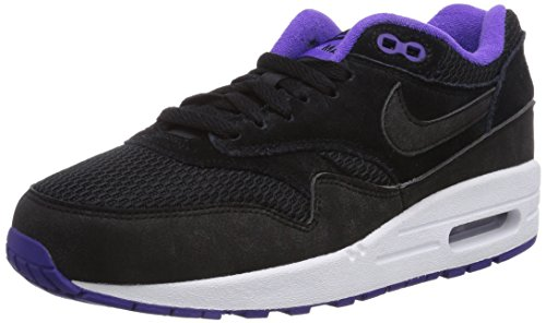Nike WMNS Air Max 1 Essential Damen Sneakers, schwarz (BLACK), 38