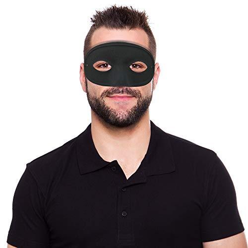 Skeleteen Máscara de superhéroe Negro con diseño de Esqueleto ...
