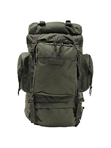 Militär a Sac à dos d'intervention de trekking Tactical Olive 55 l