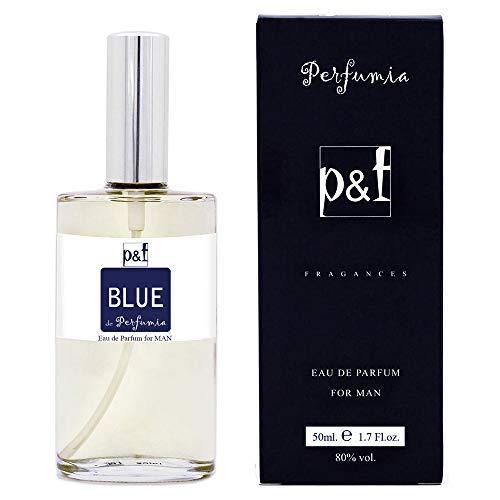 BLUE by p&f Perfumia, Eau de Parfum para hombre, Vaporizador (50 ml)