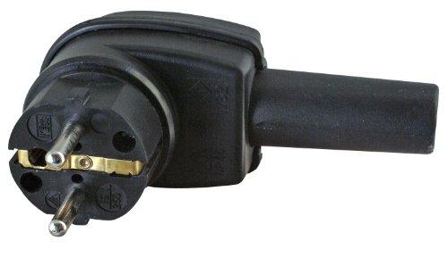 Kopp 178216009 Schutzkontakt-Vollgummi-Winkelstecker