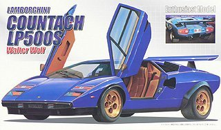 1/24 Enthusiast Model Series 33 LP500S Countach Walter Wolf (japan import)