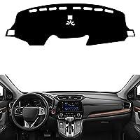 nasASLK カーダッシュボードカバーダッシュマットパッドダッシュボードカバーカーペット、ホンダCRV 2017 2018 2019