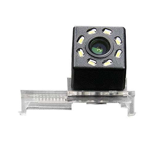 HD 720p Backup Retrovisore Telecamera di Parcheggio per Monitor Universale (RCA) per Peugeot 12 3008, 308, 408, 508, 12 Citroen C5, 12 C4 C-Quatre, C2, 11 Elysee/Renault Koleos 2