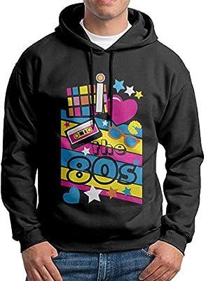 Men's I Love the 80s Hooded Sweatshirt