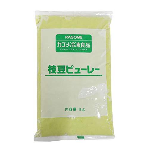 カゴメ 冷凍 枝豆 ピューレー 1kg 野菜 ピューレ