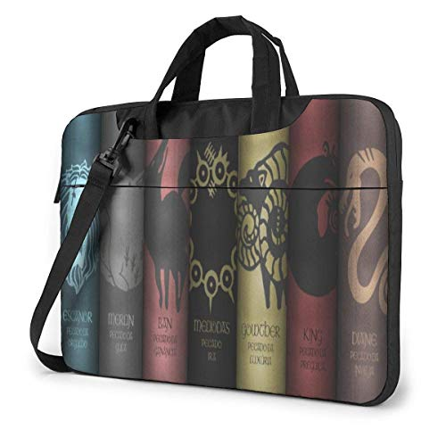15.6 inch Laptop Shoulder Briefcase Messenger Anime The Seven Deadly Sins Tablet Bussiness Carrying Handbag Case Sleeve