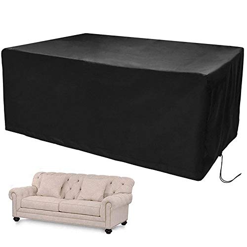 DINGZHAO Fundas para muebles de jardín, fundas para muebles, tela Oxford 210D, impermeables, resistentes al viento y a los rayos UV, para sofás y sillas (170 x 94 x 70 cm)