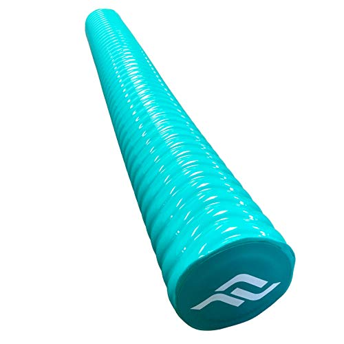 IMMERSA Swimming Pool Noodle, Soft Foam Water-Based Vinyl Coating, Strong Buoyant Power for Fun in Water Lake River Pool as Swimming Floating Toy Equipment (Teal)