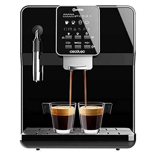 Express Manuel Machine à café Cecotec électrique Matic-ccino 6000 1,7 L 19 Bar LCD 1350W (Color : Black)