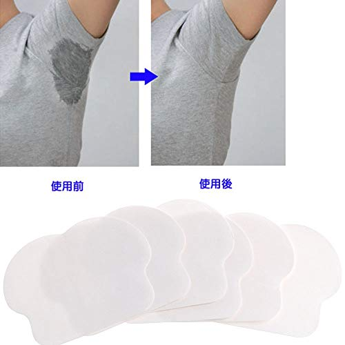 XiaoOu Achselschweißpolster 12PC Unisex Frauen Männer Sommer Einweg-Achselschweißpads Absorbierend gegen Schweiß