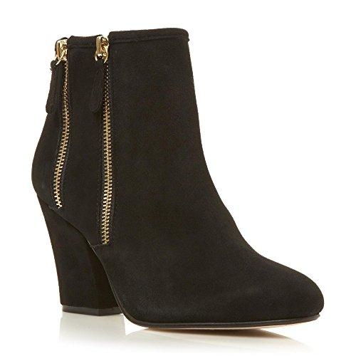 Dune London Noras Stiefelletten/Boots Damen Schwarz - 37 - Low Boots Shoes