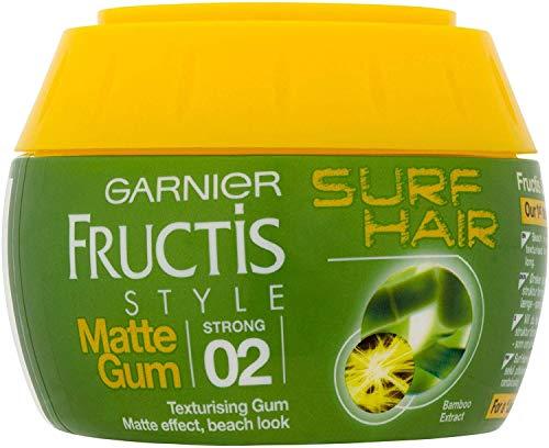 6 x Garnier Fructis Style Surf Hair Matte Texturising Gum 2 Strong 150ml