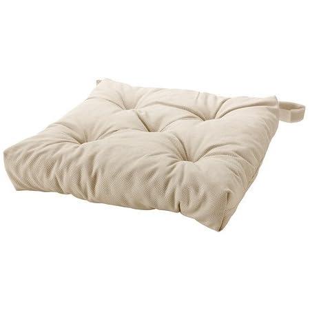 ikea malinda coussin de chaise beige clair 40 35x38x7 cm