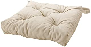 comprar comparacion Cojín para silla IKEA MALINDA, color beige claro, 40/35 x 38 x 7 cm