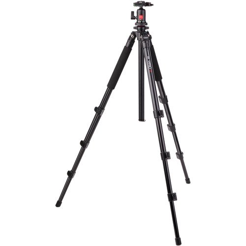 Oben AC-1441 4-Section Aluminum Tripod with BA-111 Ball Head(4 Pack)