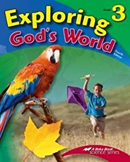 Exploring God's World - Abeka 3rd Grade 3 Science Student Text Book