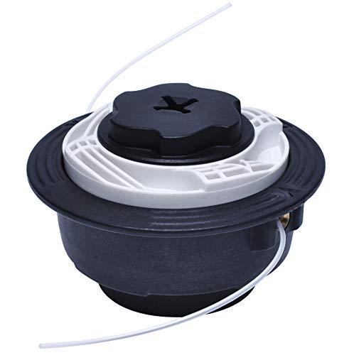 Poweka Autocut C6 - Cabezal de corte para Stihl FS38 FS40 FS50 FSE81/1.25LH, 4006 710 2105, color gris